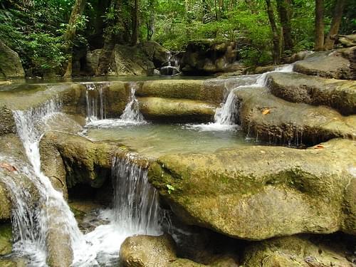 Step 5, Erawan Waterfall