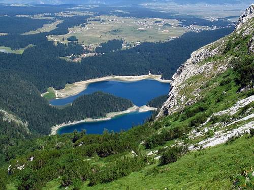 Los lagos desde arriba