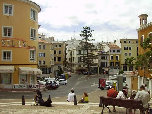 Mahon town