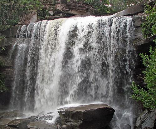 Phu Chong Nayoi National Park - larger waterfall 2