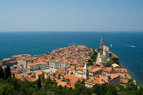 Piran - Lovely Venetian Town on the Slovenian coast