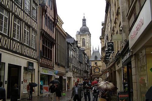 Calle del Gros Horloge, Rouen