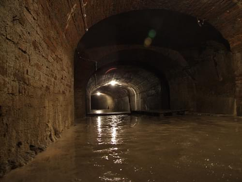 Flooded dungeons
