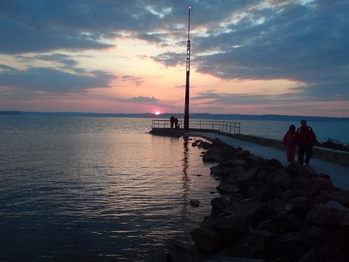 Siofok sunsets