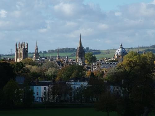 Oxford Postcard