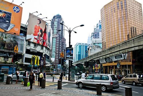 Bukit Bintang, Kuala Lumpur, Malaysia