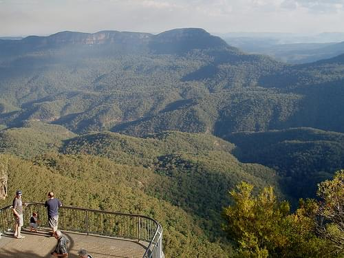 Echo Point. Blue Mountains. NSW