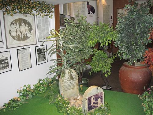 Kuching 16 - Cat museum