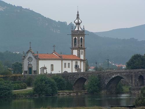 Ponte de Lima and the Church of Santo Antonio