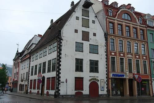 Riga.La maison Mentzendorff