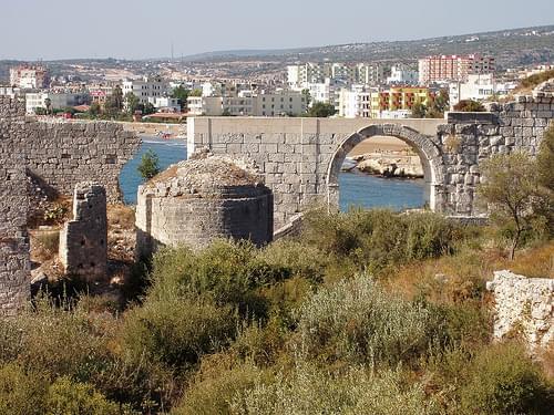 kiz castle sea gate - roman