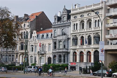Architecture ancienne avenue de Tervuren