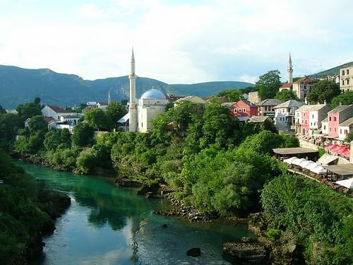 Koski Mehmed Pasha Mosque & Neretva River