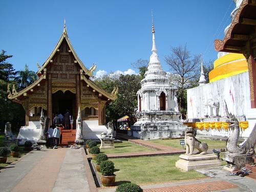 Wat Phra Singh - Chiang Mai Thailand
