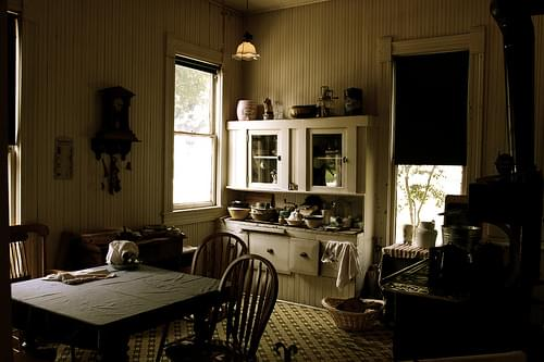 Blum House Kitchen - 1901