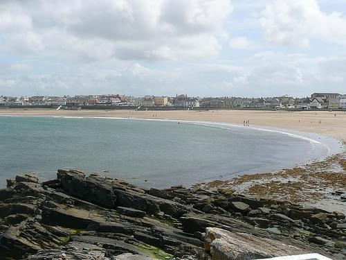 The strand at Kilkee