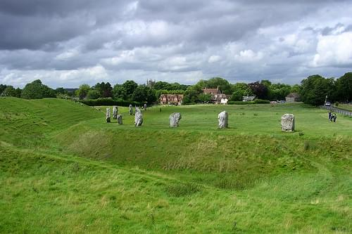 Avebury south-west quadrant