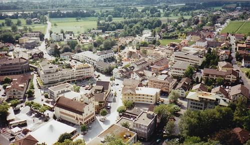 A view of Vaduz