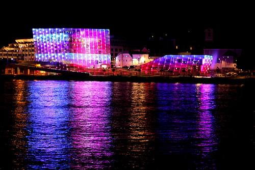 Ars Electronica Center - Night Show