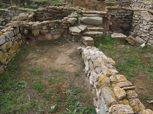 Ciutat ibèrica del Molí d'Espígol - Barri extramurs (segles IV-III aC)