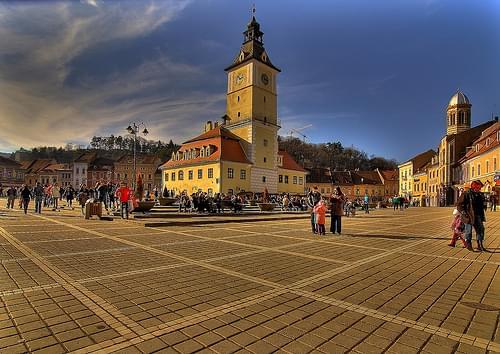 Piaţa Sfatului, Braşov, România