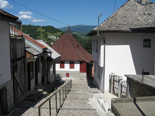 Jajce old town