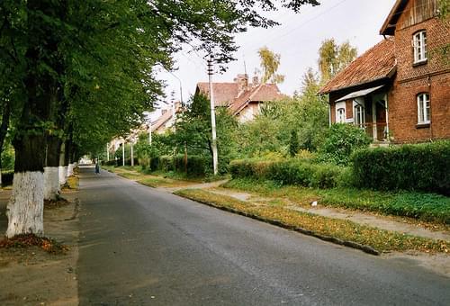 Palmnicken or янтарный Калининградская область - Yantarny -  deutsche Allee style,2003