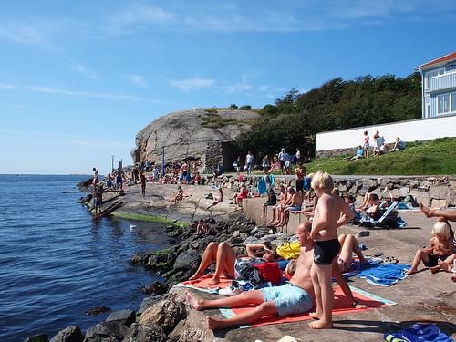 Marstrand beach