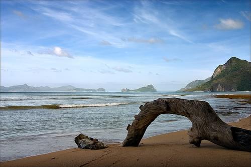 Philippines, Las Cabanas beach