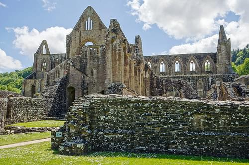 Remains of Tintern Abbey