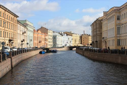 Beautiful St Petersburg