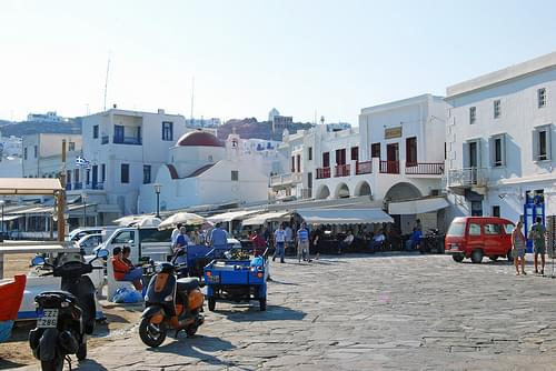 Historic Center, Mykonos