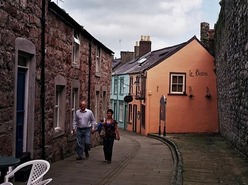 Back street in Caernarfon