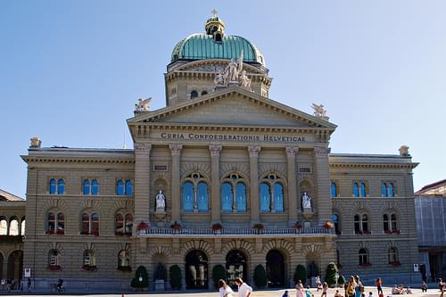 Federal Palace of Switzerland, Bern
