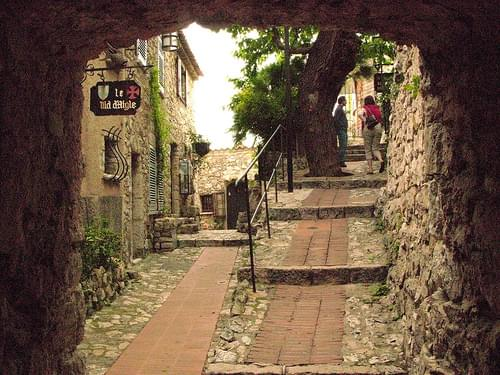 Historic Center, Eze