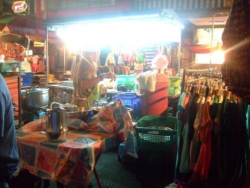 Surat Thani night market food