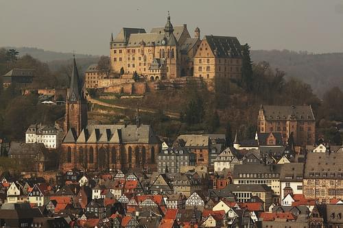 Marburg: Landgrafenschloss und Oberstadt