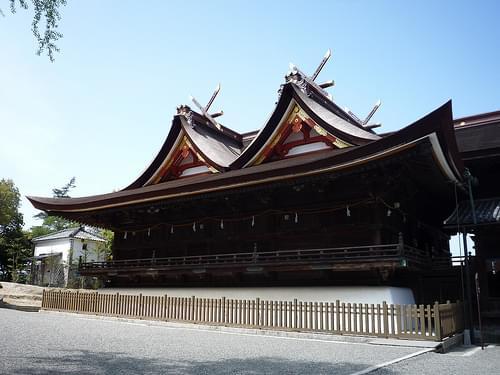 Kibitsu Shrine, Kibiji (Kibi Plain), Okayama