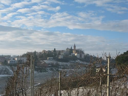Villages and wineyards
