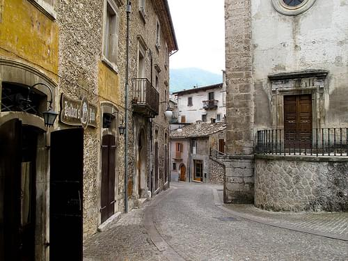 Old Town, Scanno