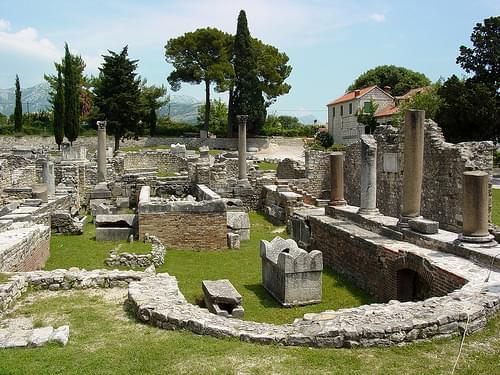 Roman Ruins - Solin - Outside Split - Croatia 02