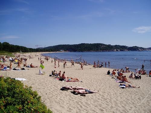 Sjøsanden Beach