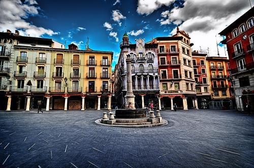 Plaza del Torico (Teruel) NO HDR