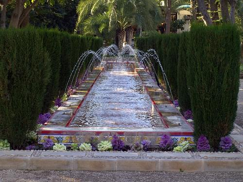 Water feature, Elche
