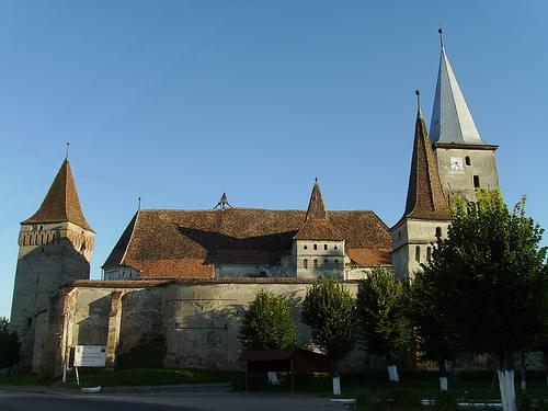 Mosna Fortified Church - side view