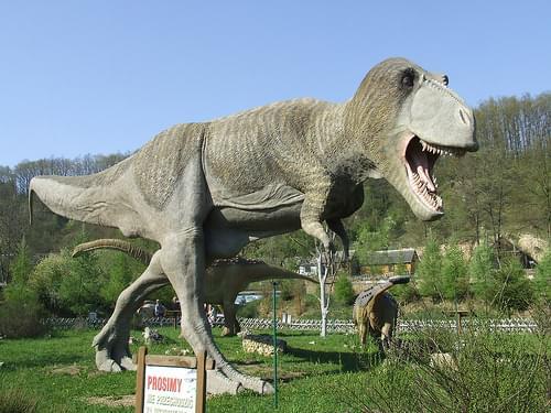 T-rex at Bałtów JuraPark