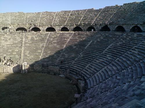 Roman Amphitheatre, Side, Turkey