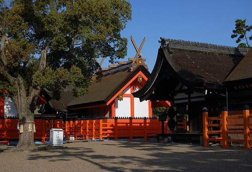 Sumiyoshi Taisha Shrine, Osaka