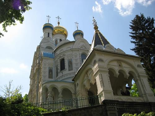 Church in Karlovy Vary