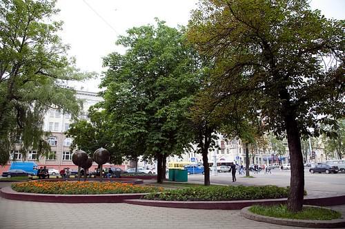 Chelyuskinites Park, Minsk